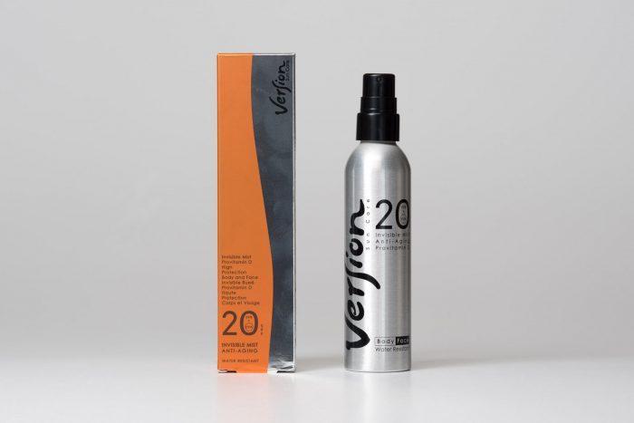 anti-wrinkle mist face body provitamin D