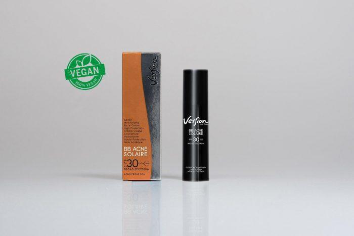 Acne anti-wrinkle sunscreen lutein